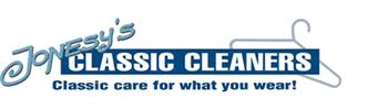 Jonesy's Classic Cleaners logo